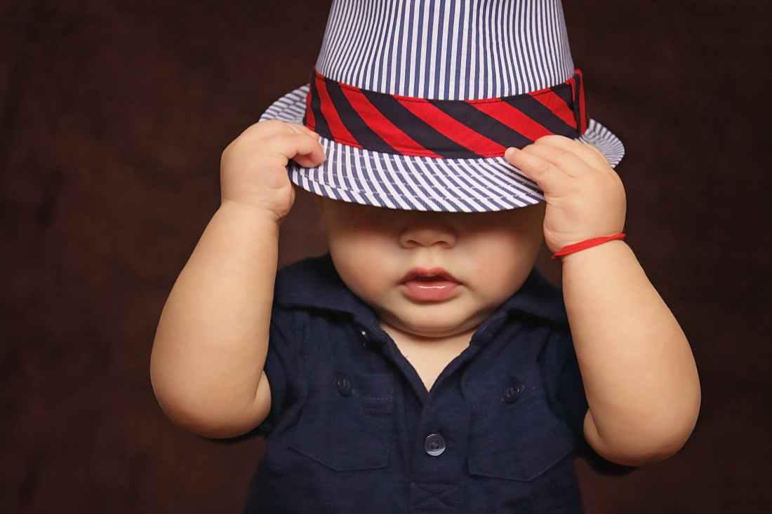 black and white stripes fedora hat