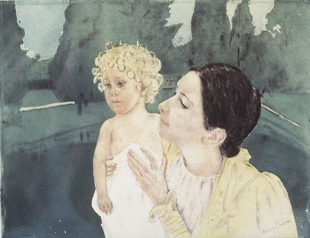 627px-Brooklyn_Museum_-_Mother_and_Child_Before_a_Pool_-_Mary_Cassatt