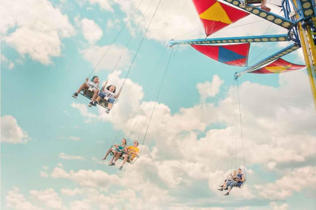 adventure amusement park carnival enjoyment
