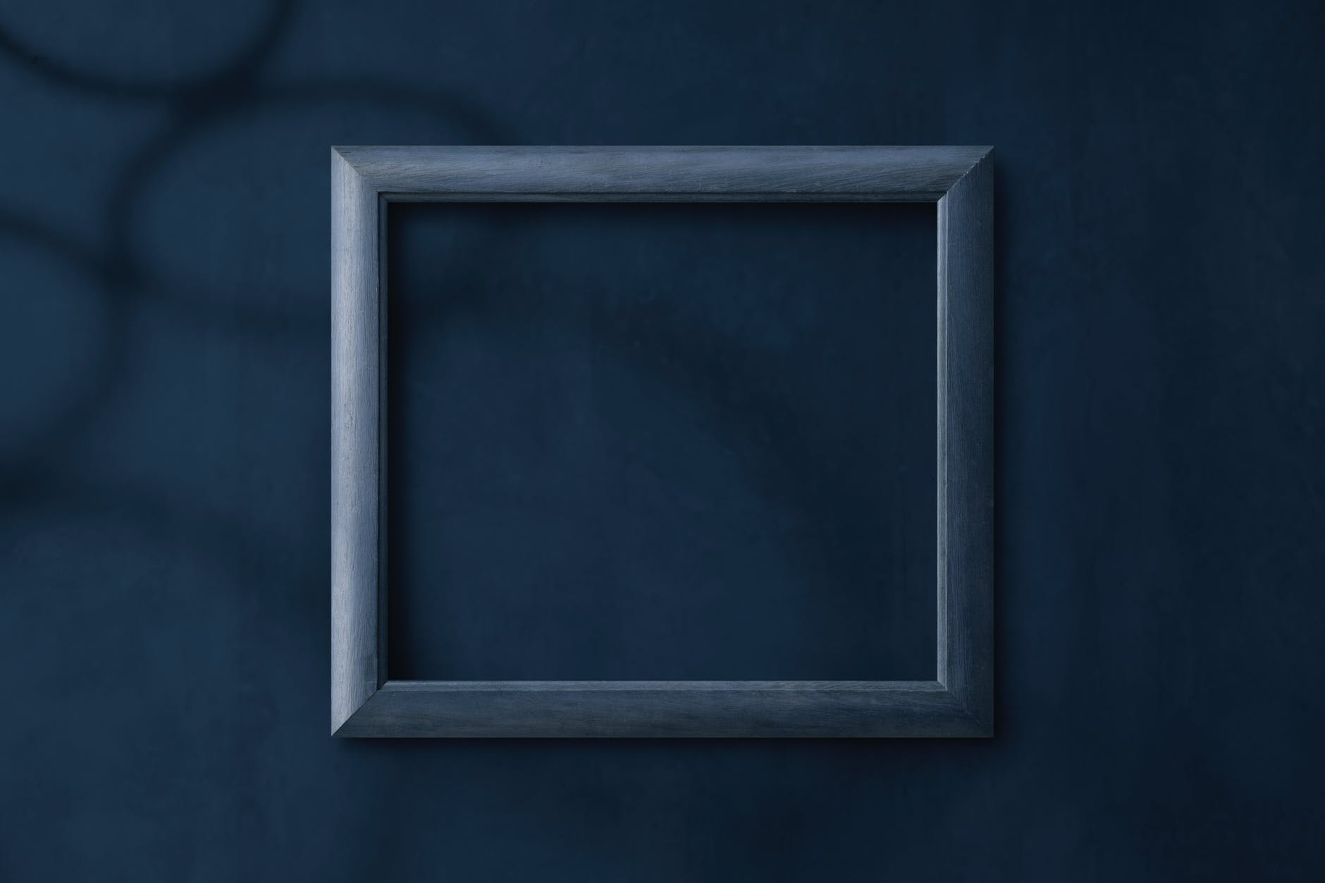 rectangular gray photo frame
