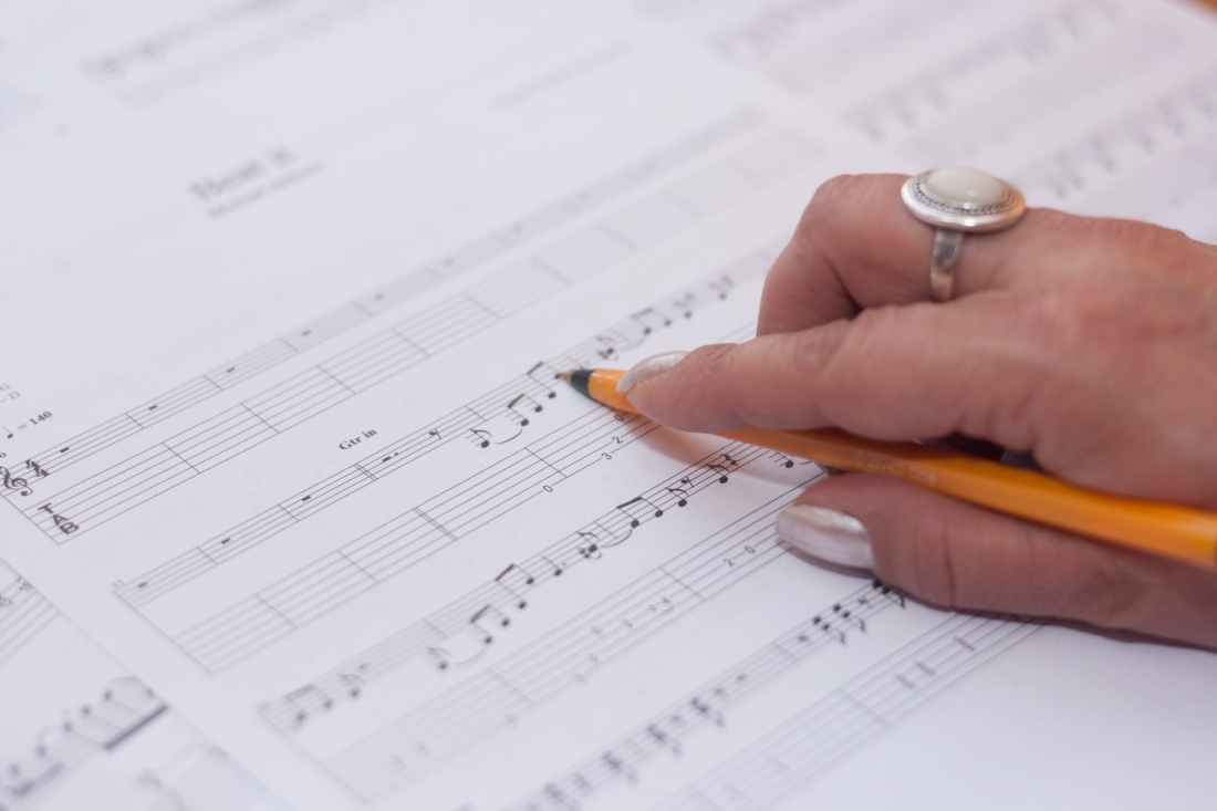 hand music musician compose